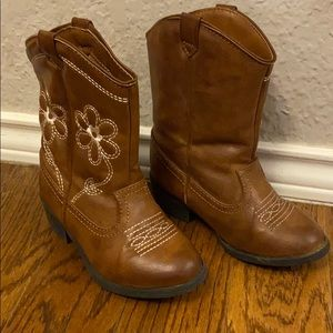 Toddler girls 8 cowgirl boots